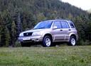 Фото авто Suzuki Grand Vitara 1 поколение [рестайлинг], ракурс: 45 цвет: серебряный