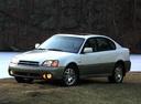 Фото авто Subaru Outback 2 поколение, ракурс: 45 цвет: белый