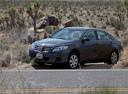 Фото авто Toyota Camry XV40 [рестайлинг], ракурс: 45 цвет: мокрый асфальт