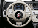 Фото авто Fiat 500 2 поколение [рестайлинг], ракурс: рулевое колесо