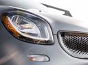 Фото авто Smart Fortwo 3 поколение, ракурс: передние фары цвет: серый