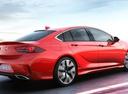 Фото авто Opel Insignia B, ракурс: 225 цвет: красный