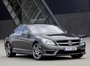 Фото авто Mercedes-Benz CL-Класс C216 [рестайлинг], ракурс: 315 цвет: серый