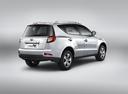 Фото авто Geely Emgrand X7 1 поколение, ракурс: 225 цвет: серебряный