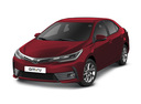 Новый Toyota Corolla, красный металлик, 2017 года выпуска, цена 1 205 500 руб. в автосалоне