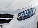 Фото авто Mercedes-Benz S-Класс W222/C217/A217, ракурс: передние фары цвет: серебряный