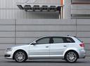 Фото авто Audi A3 8P/8PA [2-й рестайлинг], ракурс: 90 цвет: серебряный