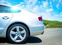 Фото авто Audi A5 8T, ракурс: боковая часть цвет: серебряный