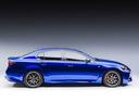 Фото авто Lexus GS 4 поколение [рестайлинг], ракурс: 270 цвет: синий