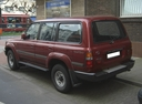 Фото авто Toyota Land Cruiser J80, ракурс: 135