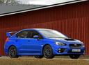 Фото авто Subaru Impreza 4 поколение, ракурс: 135 цвет: синий