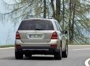 Фото авто Mercedes-Benz GL-Класс X164, ракурс: 180 цвет: серебряный