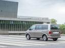 Фото авто Volkswagen Multivan T6, ракурс: 135 цвет: бежевый