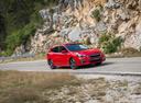 Фото авто Subaru Impreza 5 поколение, ракурс: 315 цвет: красный
