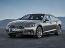Фото авто Audi A5 2 поколение, ракурс: 45 цвет: серый