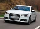 Фото авто Audi S6 C7, ракурс: 45 цвет: белый
