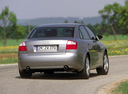 Фото авто Audi A4 B6, ракурс: 180 цвет: серебряный