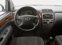Фото авто Toyota Avensis Verso 1 поколение, ракурс: рулевое колесо