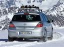Фото авто Opel Astra Family/H [рестайлинг], ракурс: 180 цвет: серебряный