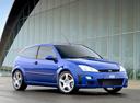 Фото авто Ford Focus 1 поколение [рестайлинг], ракурс: 315 цвет: синий