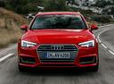 Фото авто Audi A4 B9,  цвет: красный