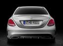 Фото авто Mercedes-Benz C-Класс W205/S205/C205, ракурс: 180 цвет: серебряный
