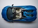 Фото авто Lamborghini Aventador 1 поколение [рестайлинг], ракурс: сверху цвет: синий