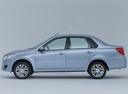 Фото авто Datsun on-DO 1 поколение, ракурс: 90 - рендер цвет: голубой