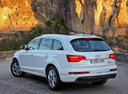 Фото авто Audi Q7 4L [рестайлинг], ракурс: 135 цвет: белый