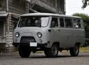 Фото авто УАЗ 452 2 поколение, ракурс: 45 цвет: серый