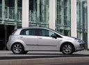 Фото авто Fiat Punto 3 поколение [рестайлинг], ракурс: 270 цвет: серый