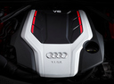 Фото авто Audi S5 F5, ракурс: двигатель