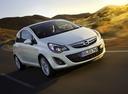 Фото авто Opel Corsa D [рестайлинг], ракурс: 315 цвет: белый