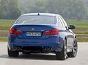 Фото авто BMW M5 F10, ракурс: 180 цвет: синий
