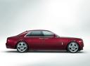 Фото авто Rolls-Royce Ghost 2 поколение, ракурс: 270 цвет: бордовый