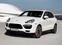 Фото авто Porsche Cayenne 958, ракурс: 45 цвет: белый