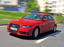 Фото авто Audi A4 B8/8K, ракурс: 45 цвет: красный