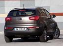 Фото авто Kia Sportage 3 поколение, ракурс: 180 цвет: коричневый