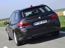 Фото авто BMW 5 серия F07/F10/F11 [рестайлинг], ракурс: 180 цвет: черный