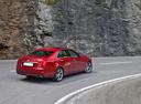 Фото авто Cadillac CTS 3 поколение, ракурс: 225 цвет: красный