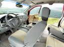 Фото авто Nissan Titan 1 поколение, ракурс: салон целиком