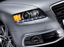 Фото авто Audi A6 4F/C6 [рестайлинг], ракурс: передние фары цвет: серебряный