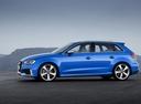 Фото авто Audi RS 3 8VA [рестайлинг], ракурс: 90 цвет: синий