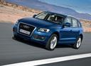 Фото авто Audi Q5 8R, ракурс: 45 цвет: синий
