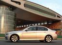Фото авто BMW 3 серия E90/E91/E92/E93, ракурс: 90 цвет: бежевый