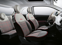 Фото авто Fiat 500 2 поколение [рестайлинг], ракурс: салон целиком