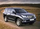 Фото авто Toyota Land Cruiser Prado J150, ракурс: 315 цвет: черный