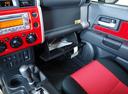 Фото авто Toyota FJ Cruiser 1 поколение [рестайлинг], ракурс: элементы интерьера