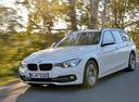 Фото авто BMW 3 серия F30/F31/F34 [рестайлинг], ракурс: 45 цвет: белый