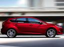 Фото авто Ford Focus 3 поколение, ракурс: 270 цвет: бордовый